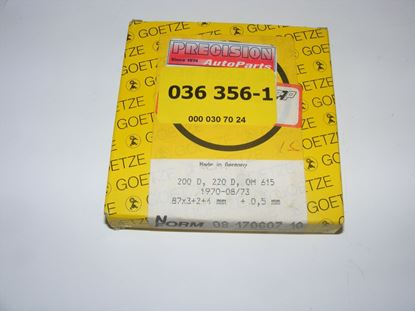Picture of Piston ring set (4) OM615 +.50