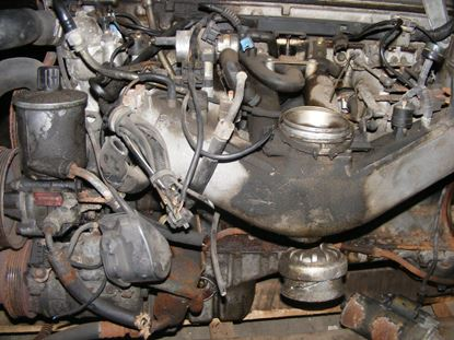 Picture of E320 engine,  104992  SOLD