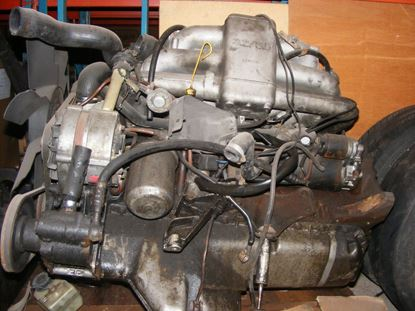 Picture of bmw M130 engine